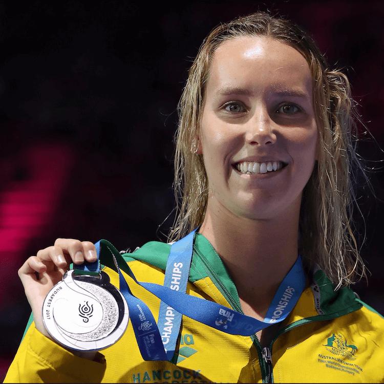 Australian swimmer Emma McKeon