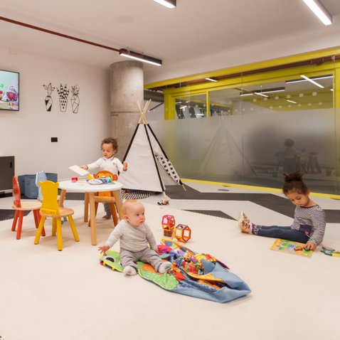 Huckletree West's child-friendly coworking space