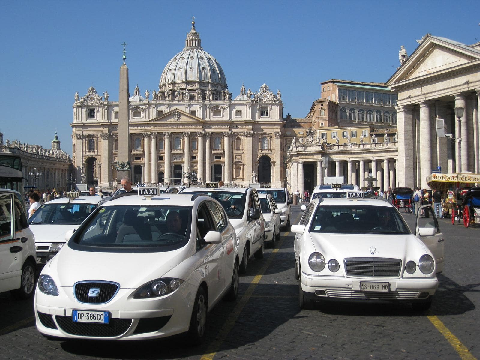 One thing to know about transportation in Italy is that while taxis are a good options, Uber isn't
