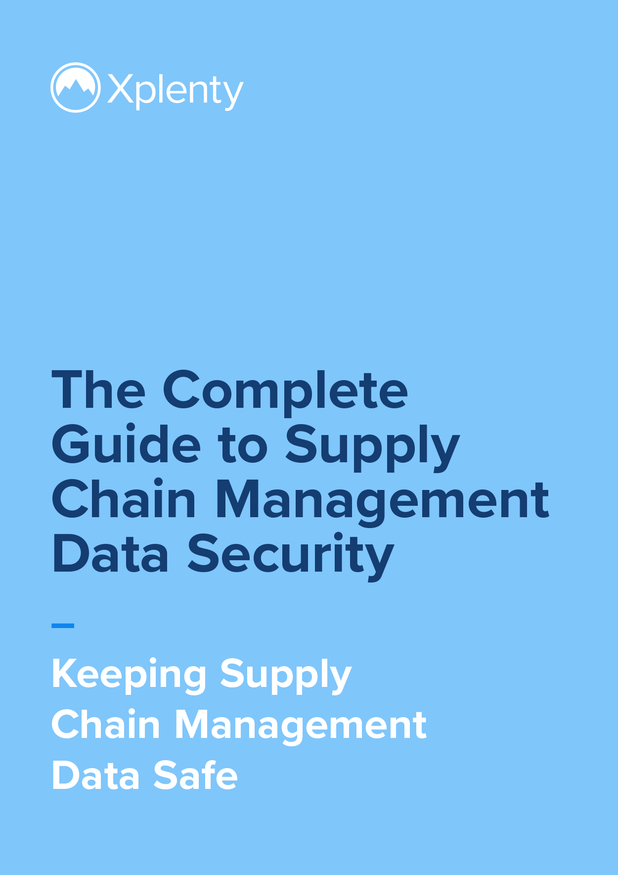 The Complete Guide to Supply Chain Management Data Security