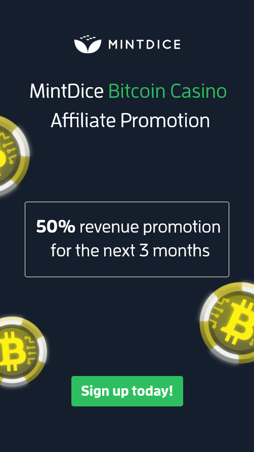 MintDice Bitcoin Affiliate Marketing ...