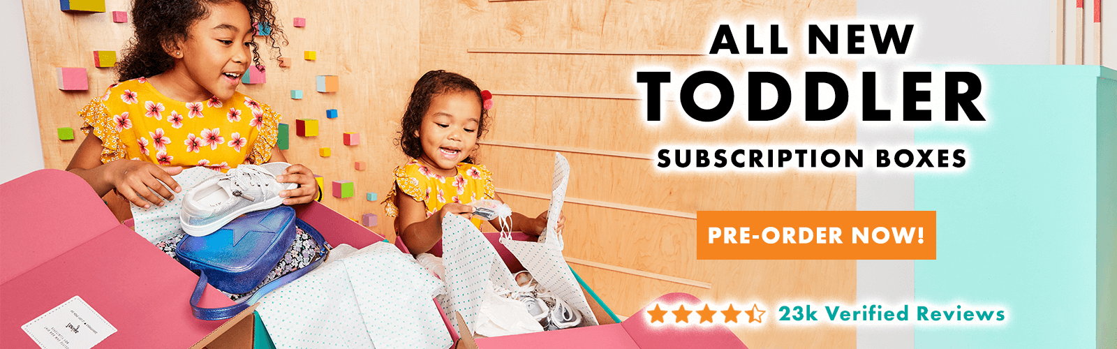 All New Toddler Subscription Boxes