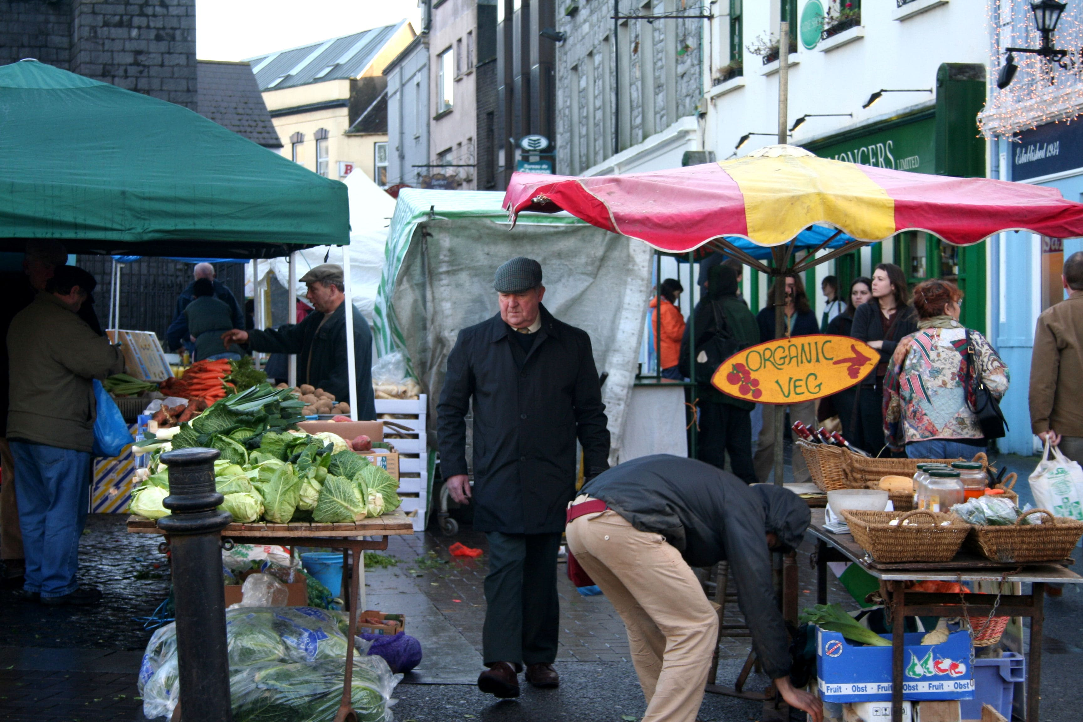 Shopping at the Galway Market is a cool thing to do in Galway Ireland