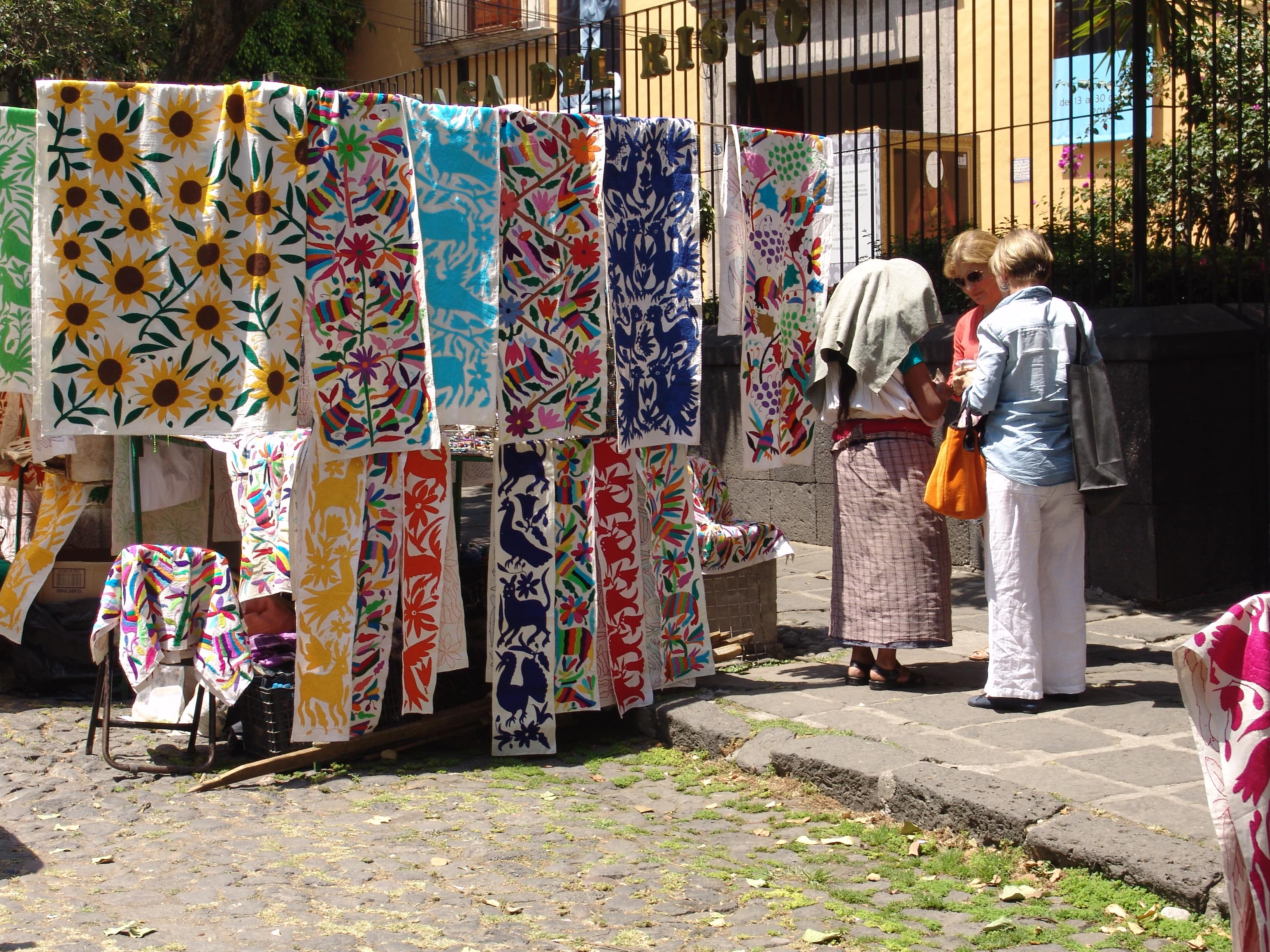 Shopping at Bazar Sabado is one of the best things to do in Mexico City
