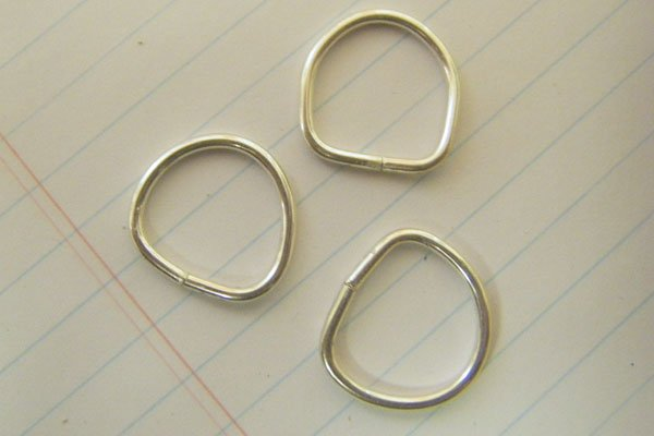 Jewelry making steps for ring making