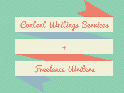 How Content Writing Services Are Helping Freelance Writers