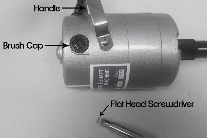 Parts to a flex shaft