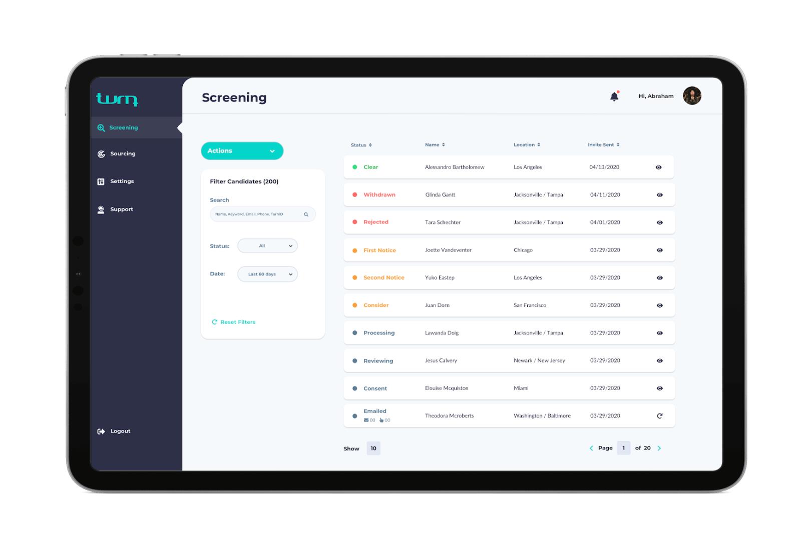 Optimized workflows