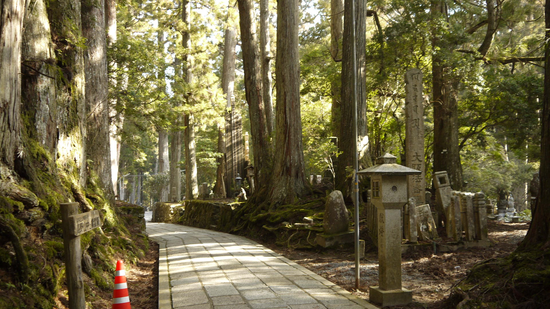 Mount koya in Japan