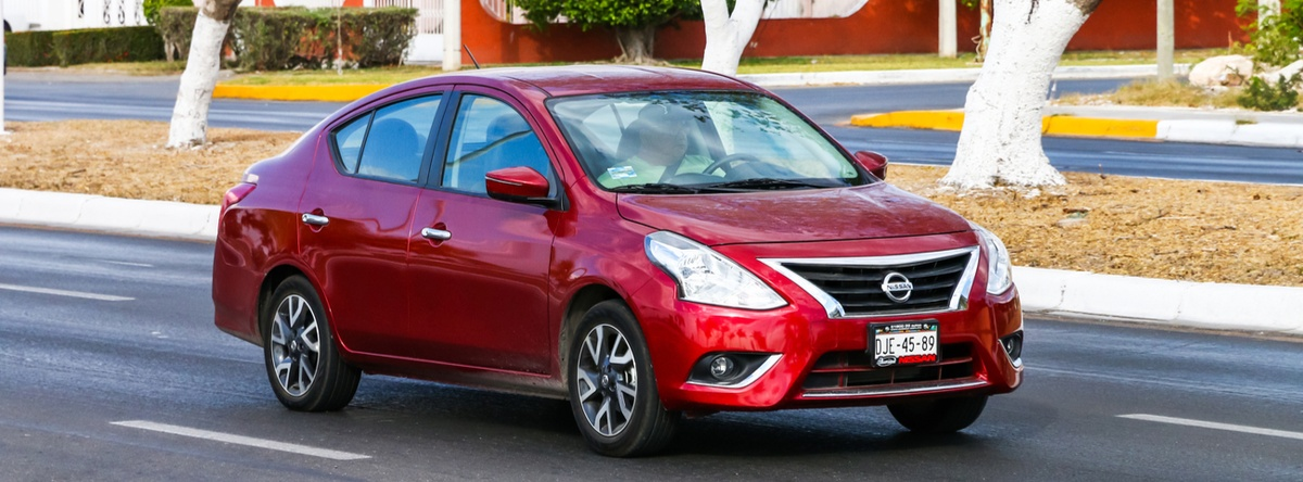 Nissan Versa 2019: un coche con una alta economía de combustible
