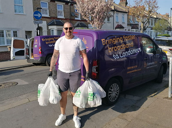 Deliveries with FoodCycle