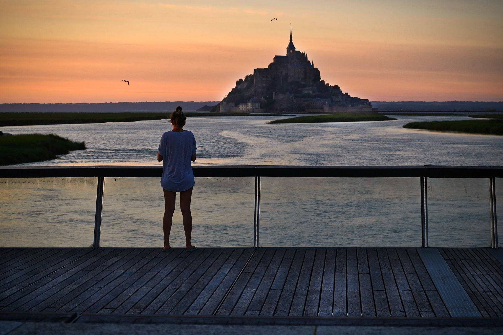Mont Saint-Michel is one of the most magnificent places to visit in Normandy