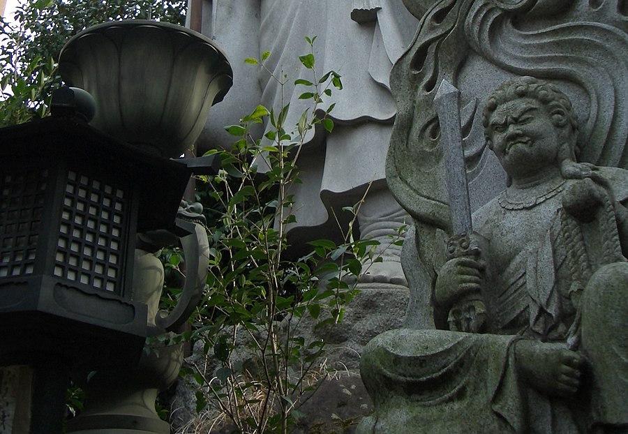 Tamagawa Daishi Temple in Tokyo Japan
