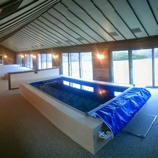 Lap Pool + 61' of Extra Space = Endless Pool