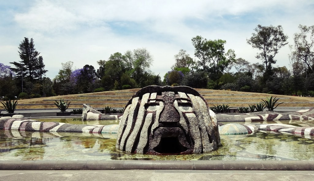 Searching for the Fuente de Tlaloc is an awesome thing to do in Mexico City