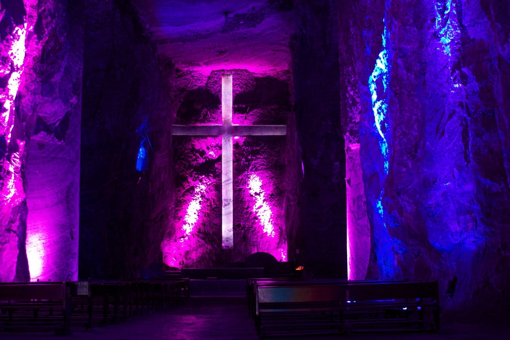 Salt Cathedral of Zipaquira things to do in Colombia