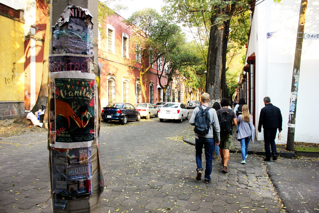 Coyacan is one of the best neighborhoods in Mexico City