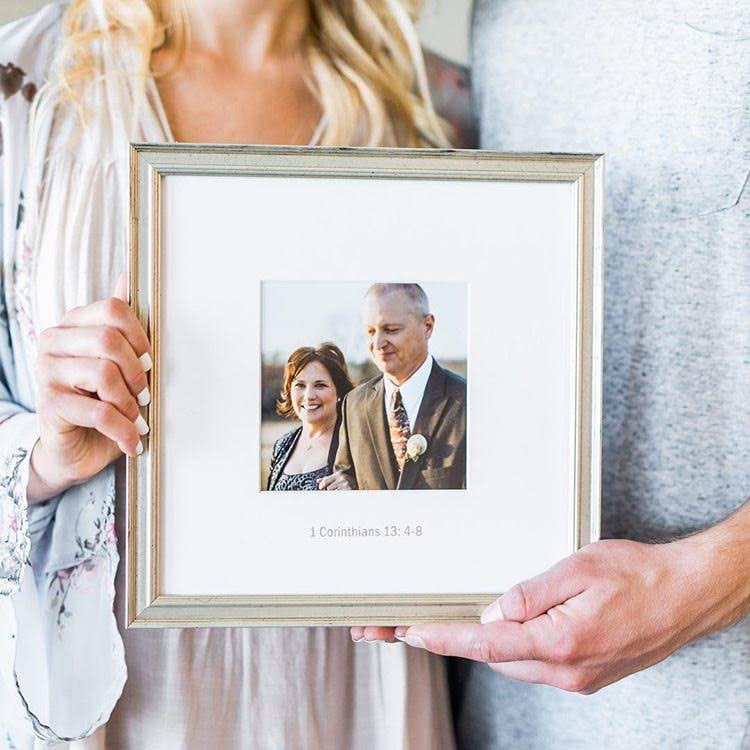 Framed Wedding Photos for Anniversary