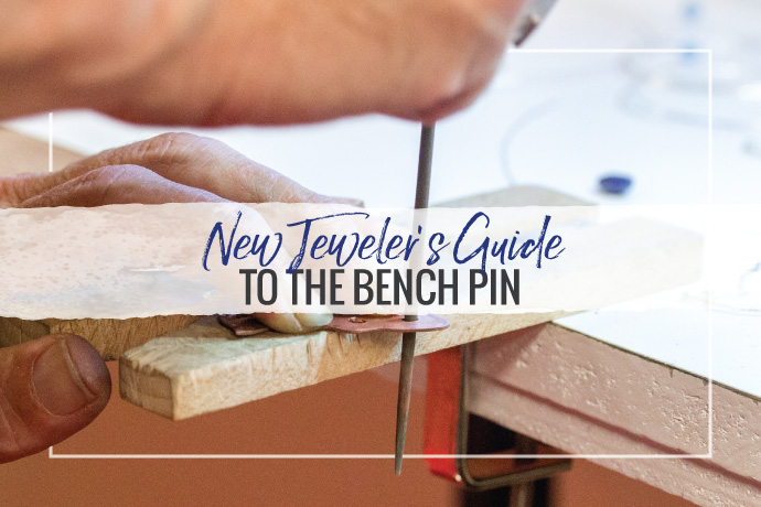 This overview details an essential jewelry studio tool: the jeweler's bench pin. Learn the features of, why they are necessary and how to choose the best.