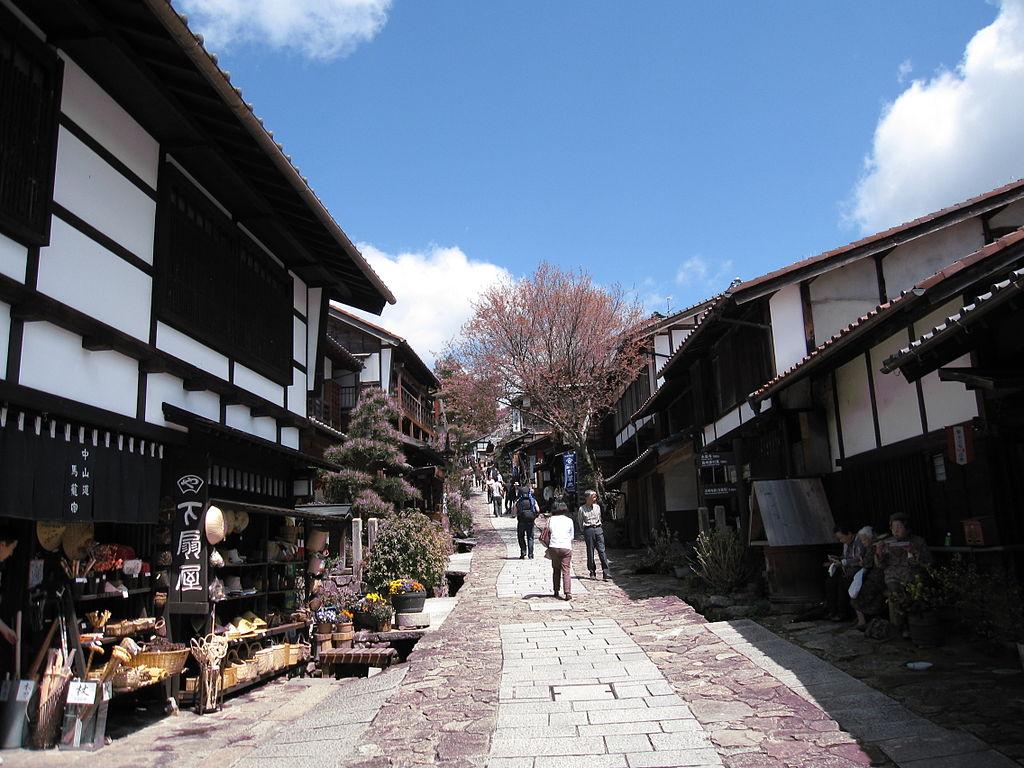 nakasendo where to go japan