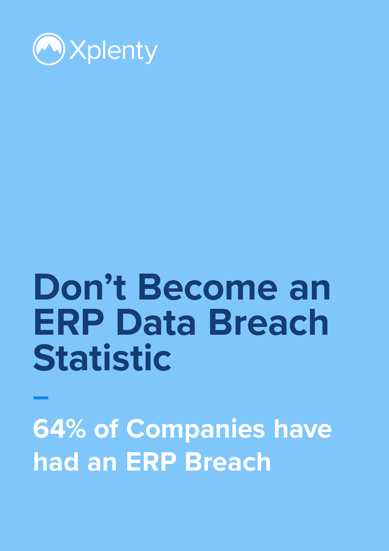 Don't Become an ERP Data Breach Statistic