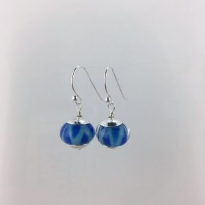 Glass Bead Earrings by Stephanie Sersich