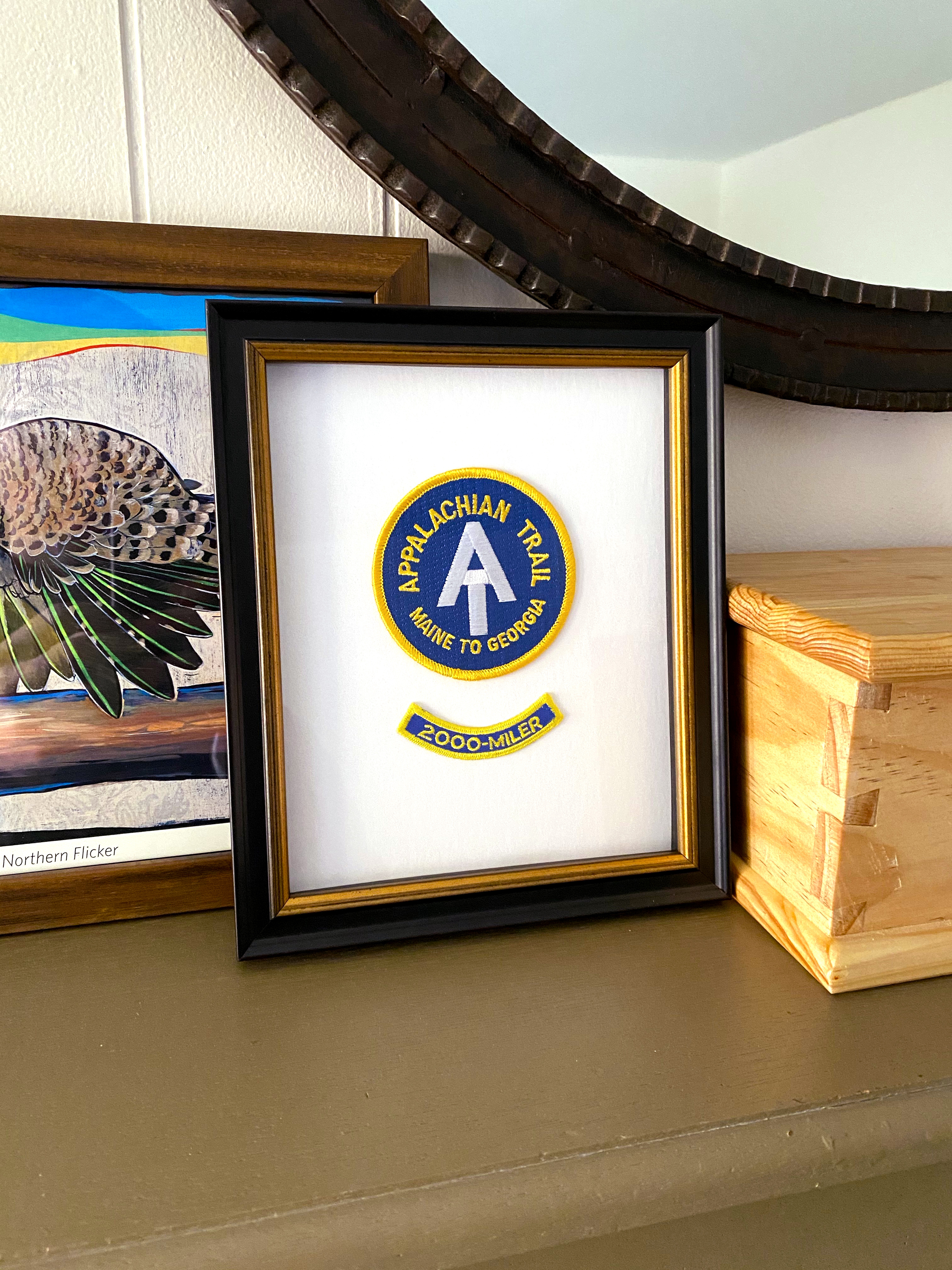patch in a frame