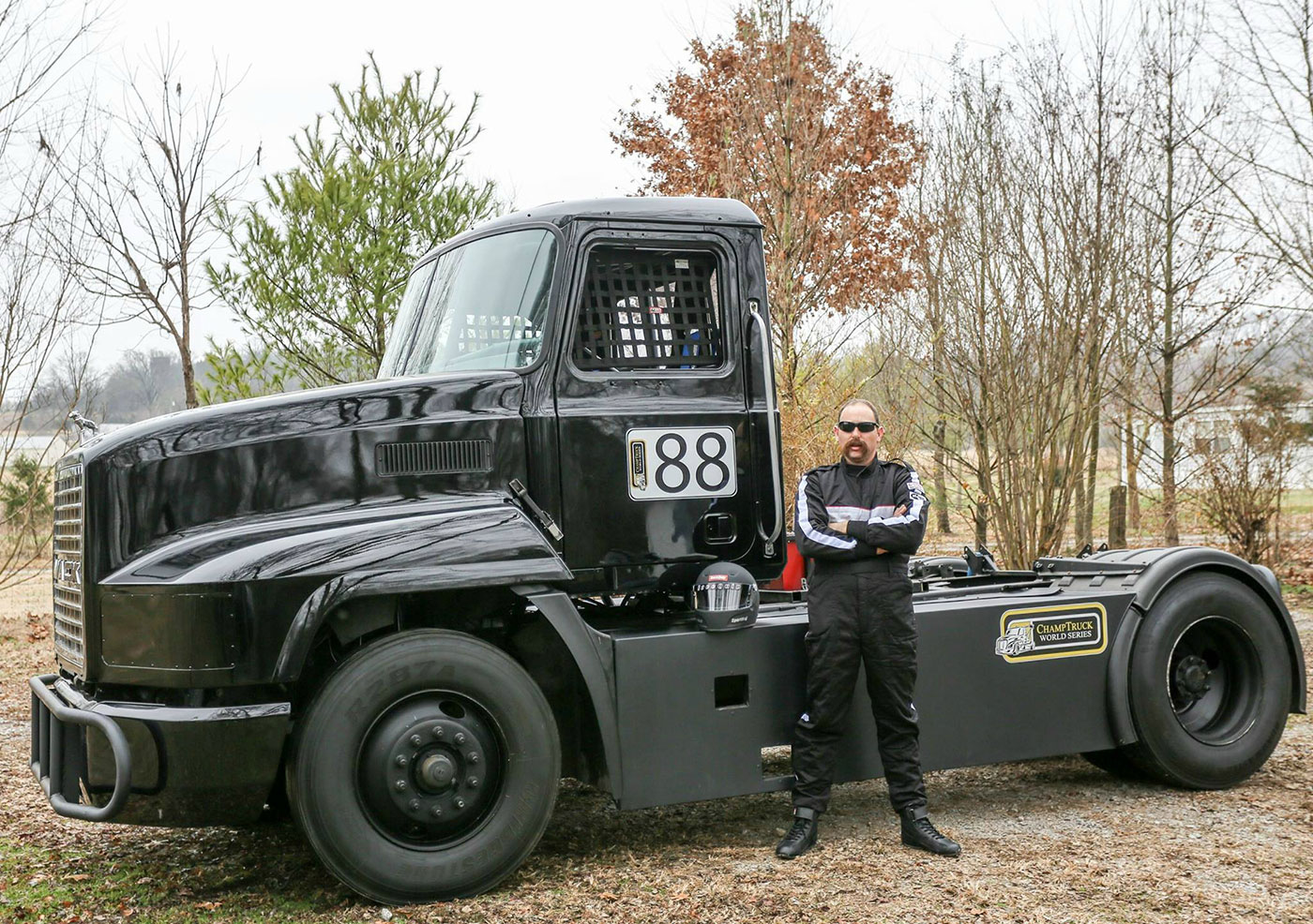 Meritor Champ Truck Series - FinditParts is a Proud Sponsor of Truck 88 & Driver Mike Morgan