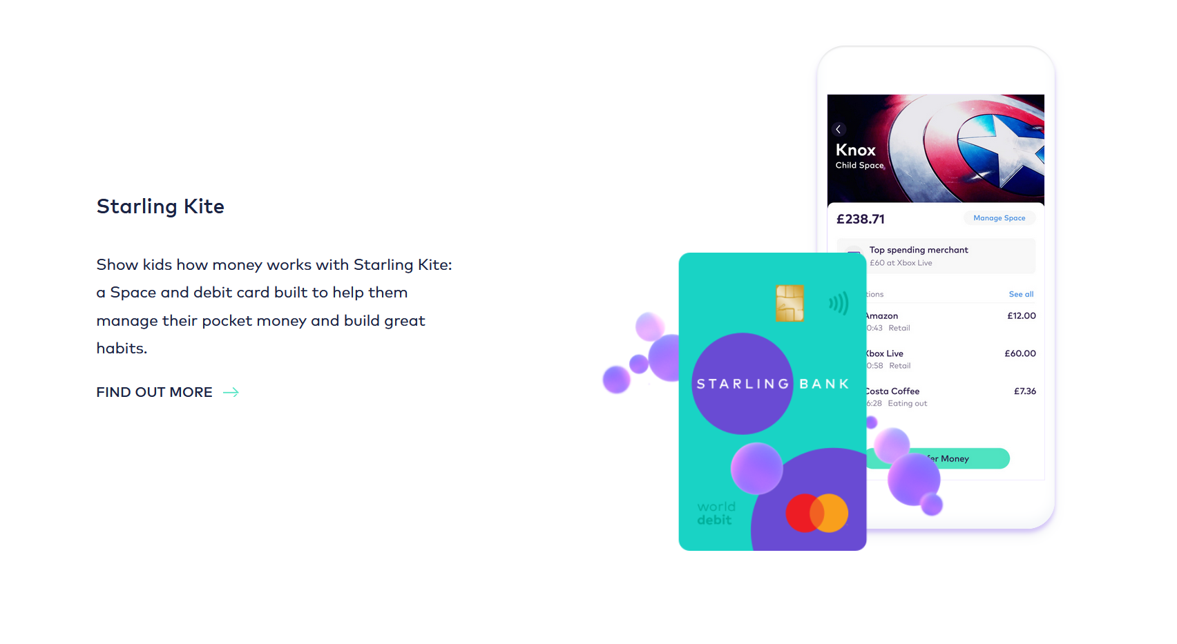 starling bank homepage