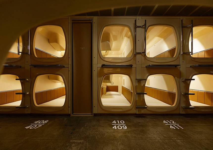spend the night capsule hotel 10 Awesome Things to Do in Tokyo at Night