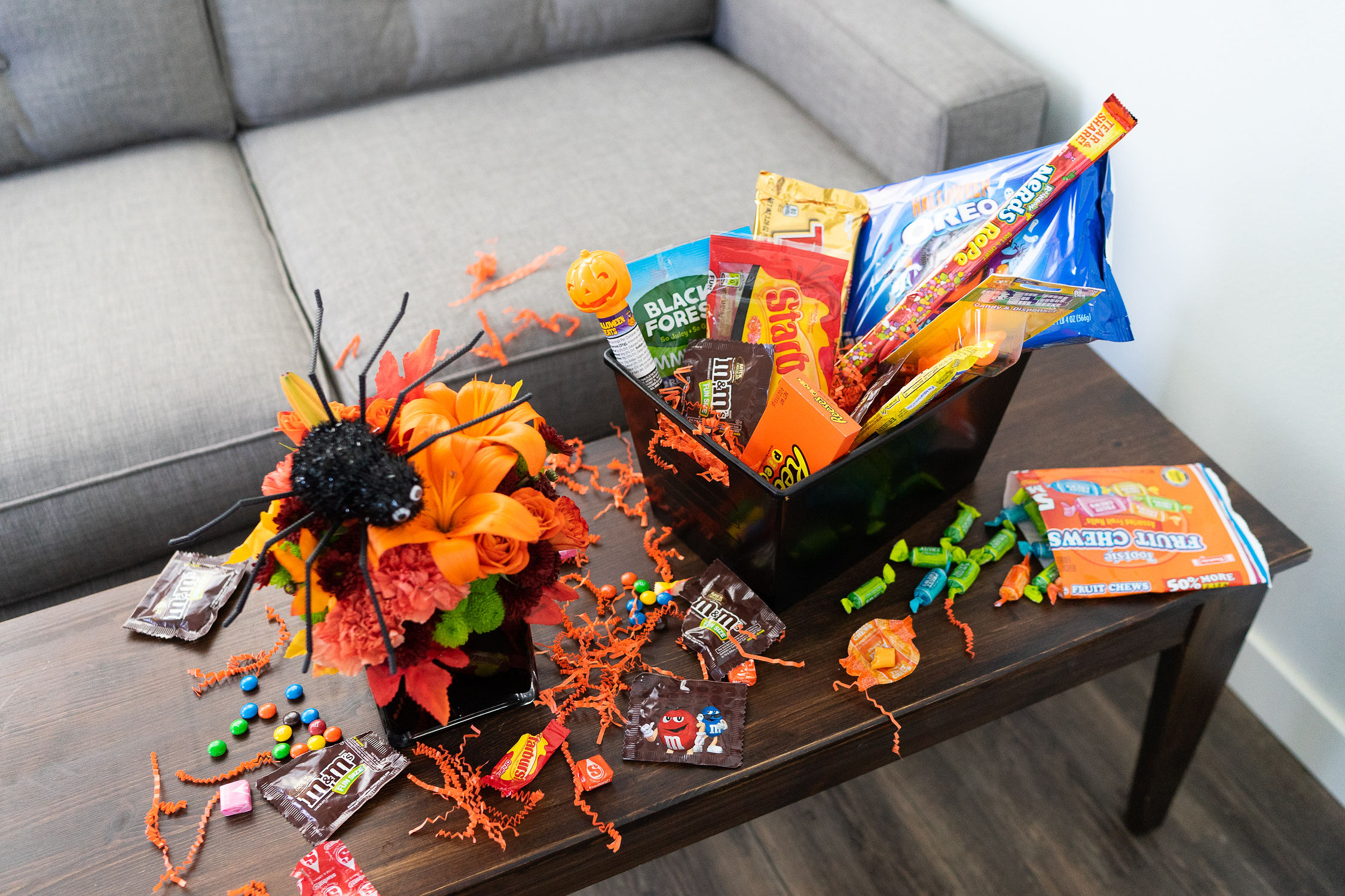 Send a Halloween Gift Basket for an Adult