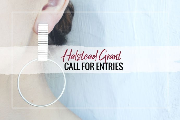 The 2019 Halstead Grant is open for applications! Take your jewelry business to the next level with startup cash and more. We're also excited to announce Liz Kantner as this year's guest judge.
