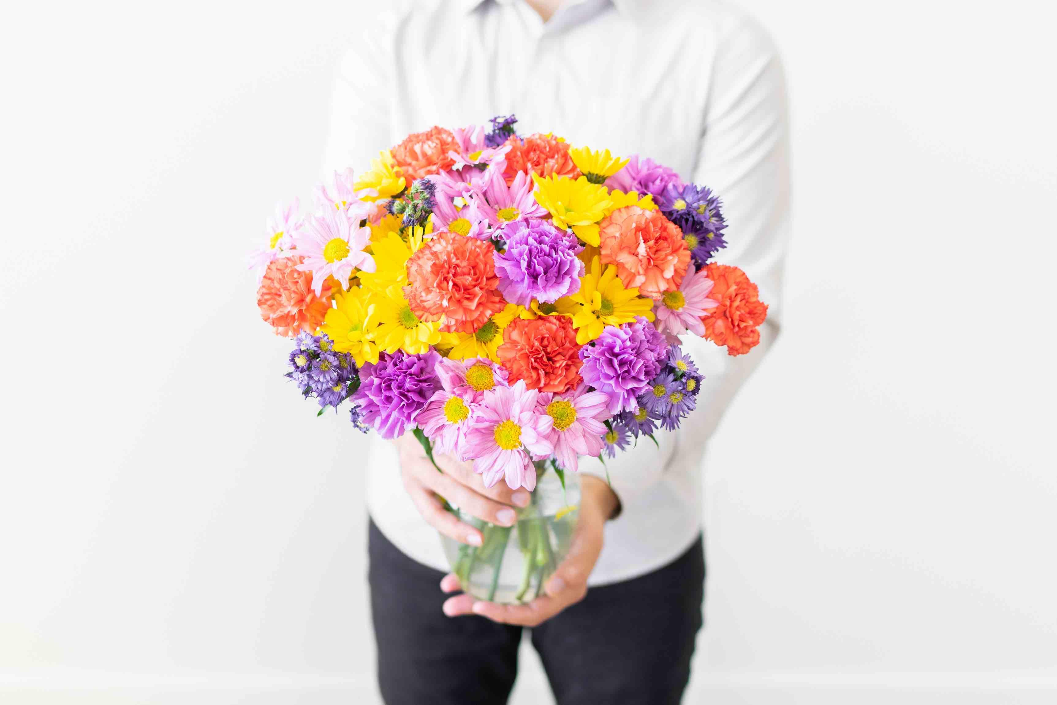 Carnations for Mom