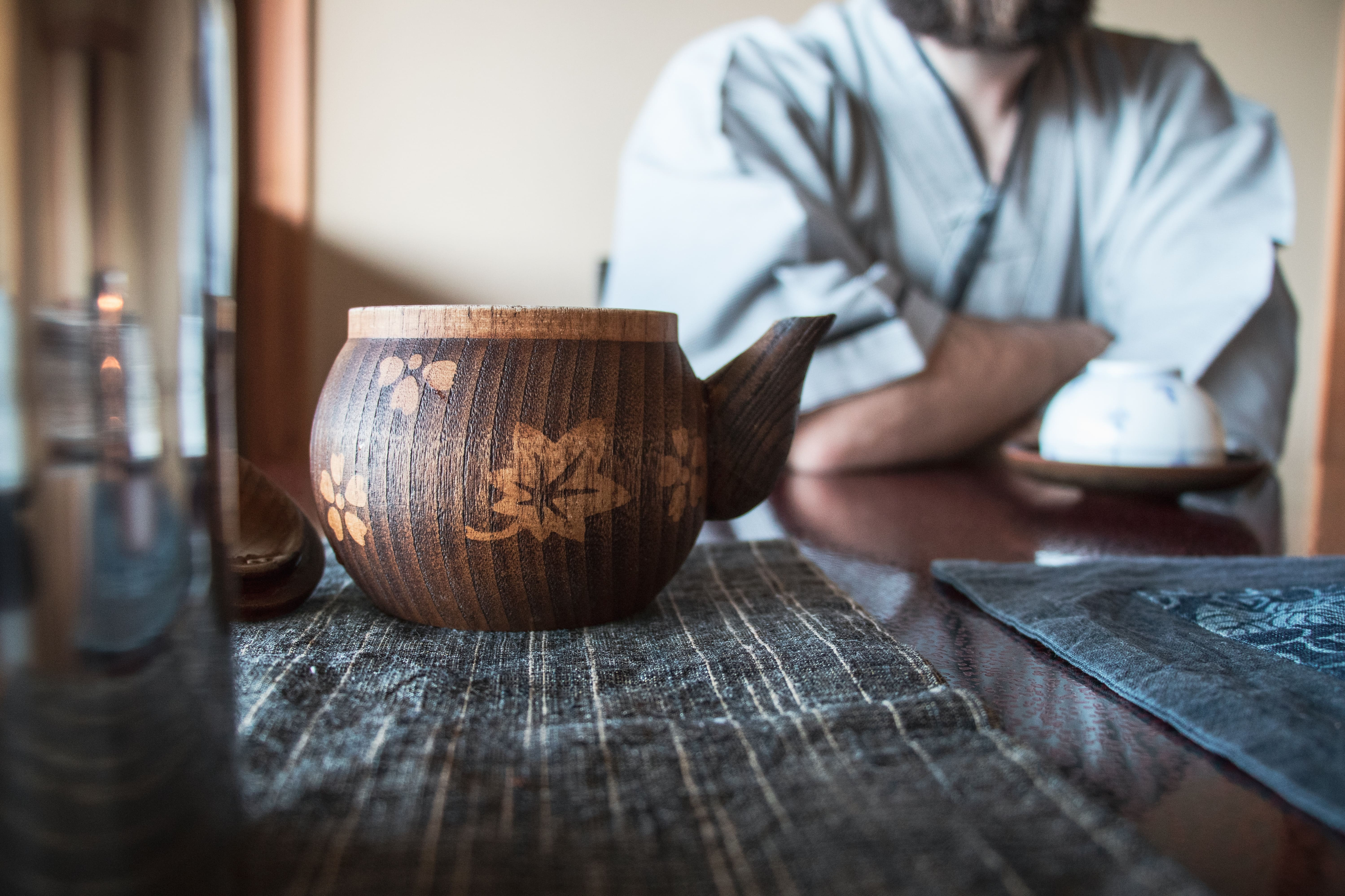 traditional japanese tea ceremony in tokyo japan