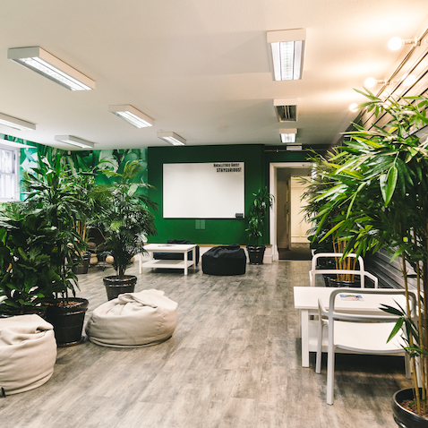 Huckletree D2 Green Breakout Space