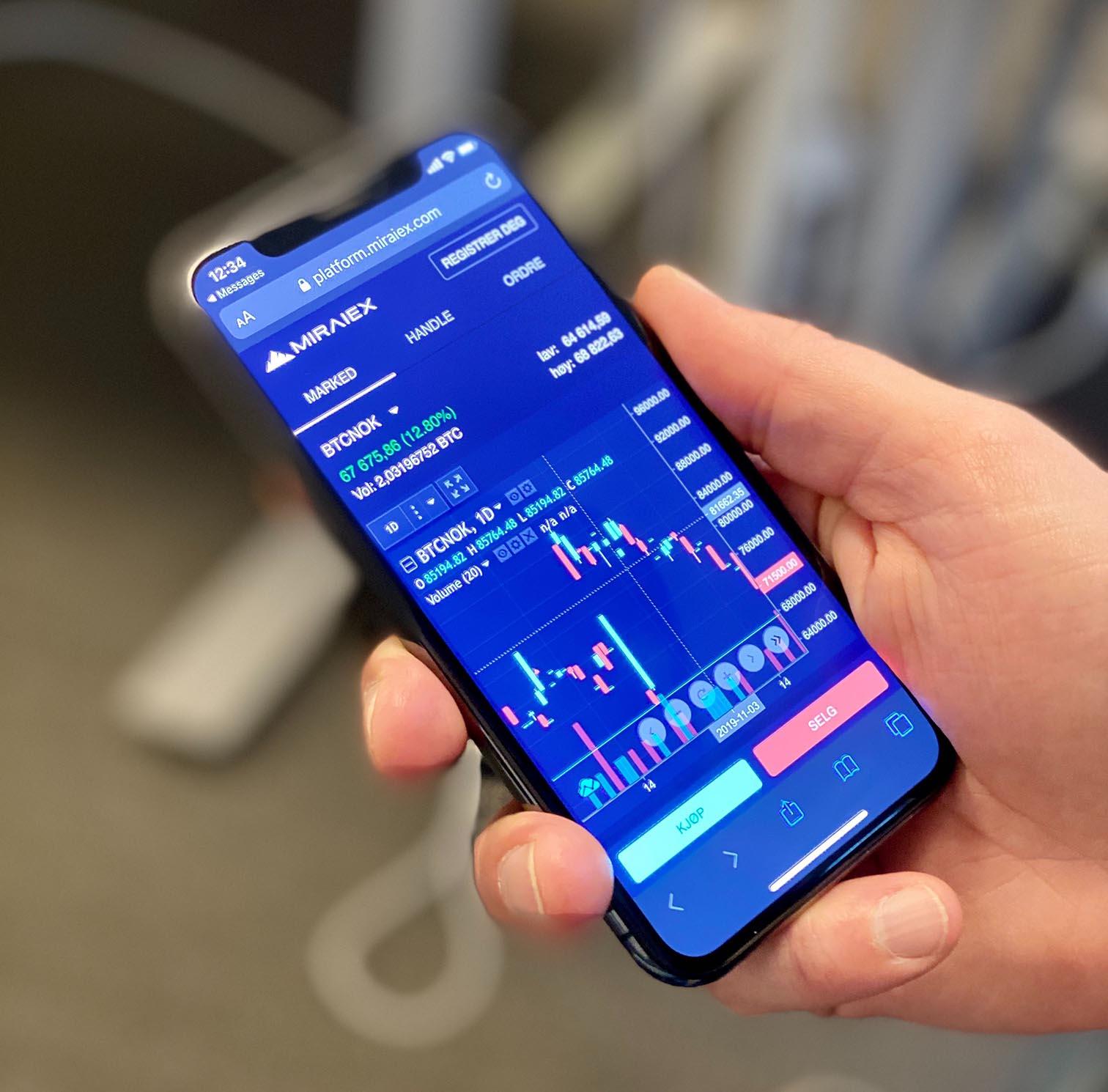 Featured Kjøp og selg bitcoin via mobil