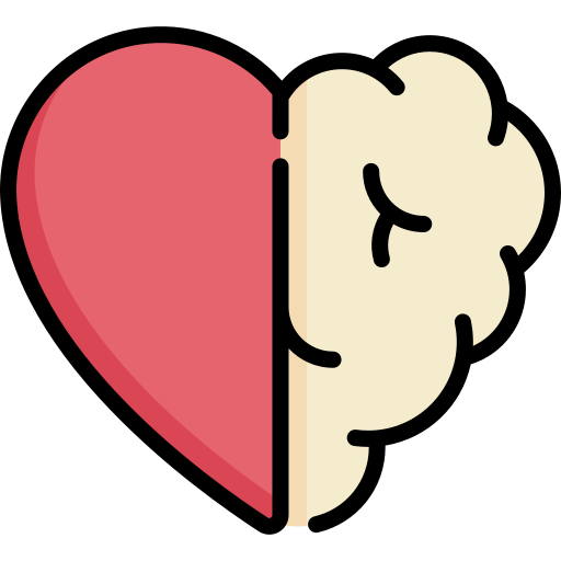 Heart and Mind Icon