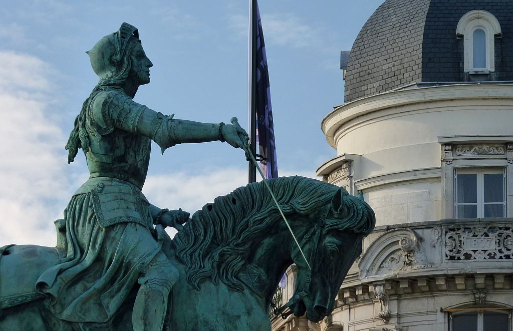 The Joan of Arc monuments are among the best places to visit in France