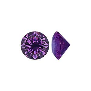Amethyst CZ Stone - Item CZ40AM