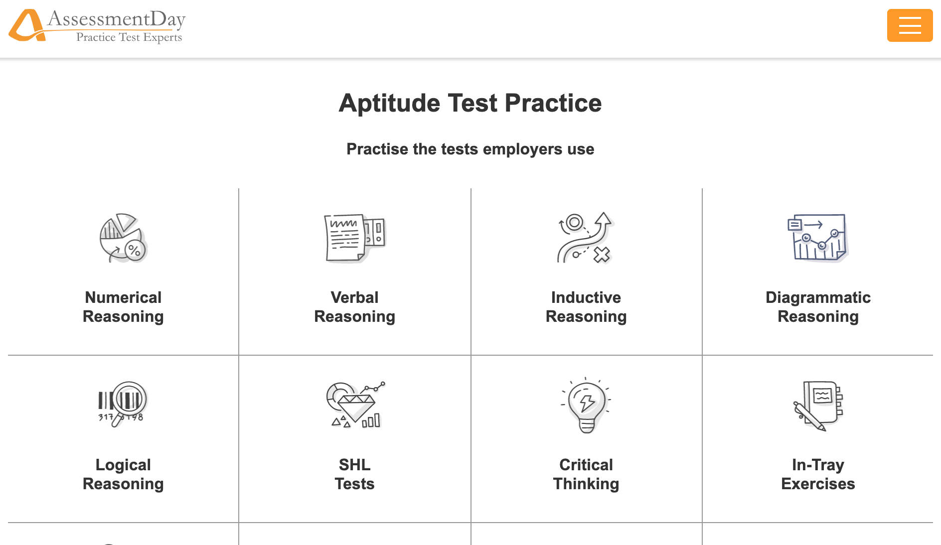 psychometric tests website uk