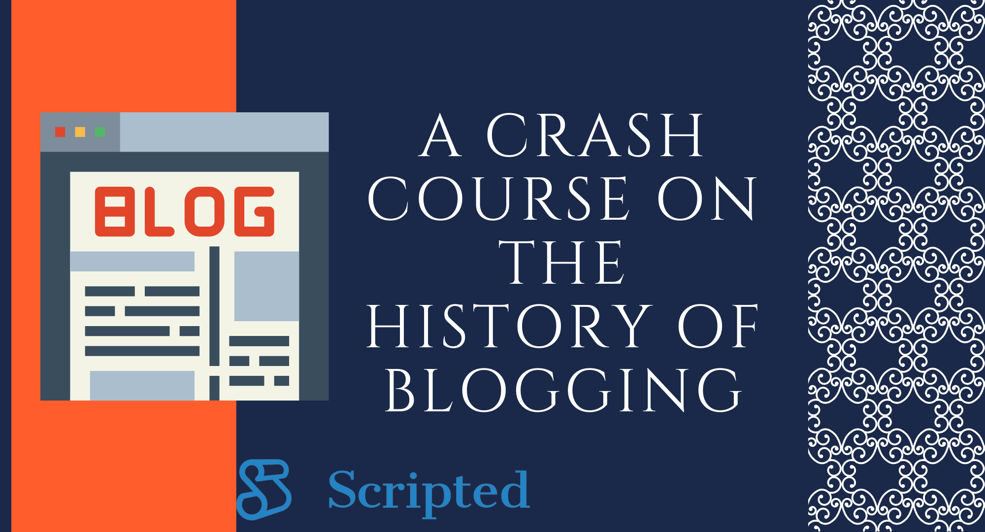 A Crash Course on the History of Blogging