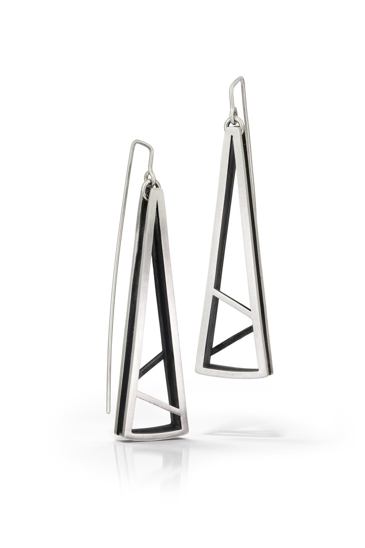 Emily Shaffer: Tri-Shaped Earring Drops