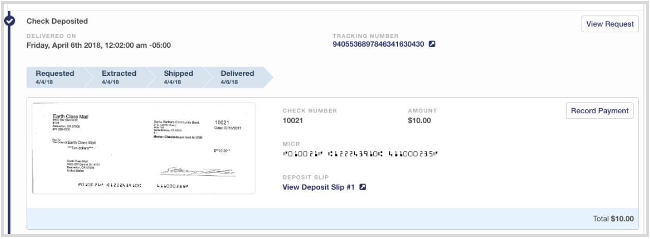 Integrate Payments Received 2