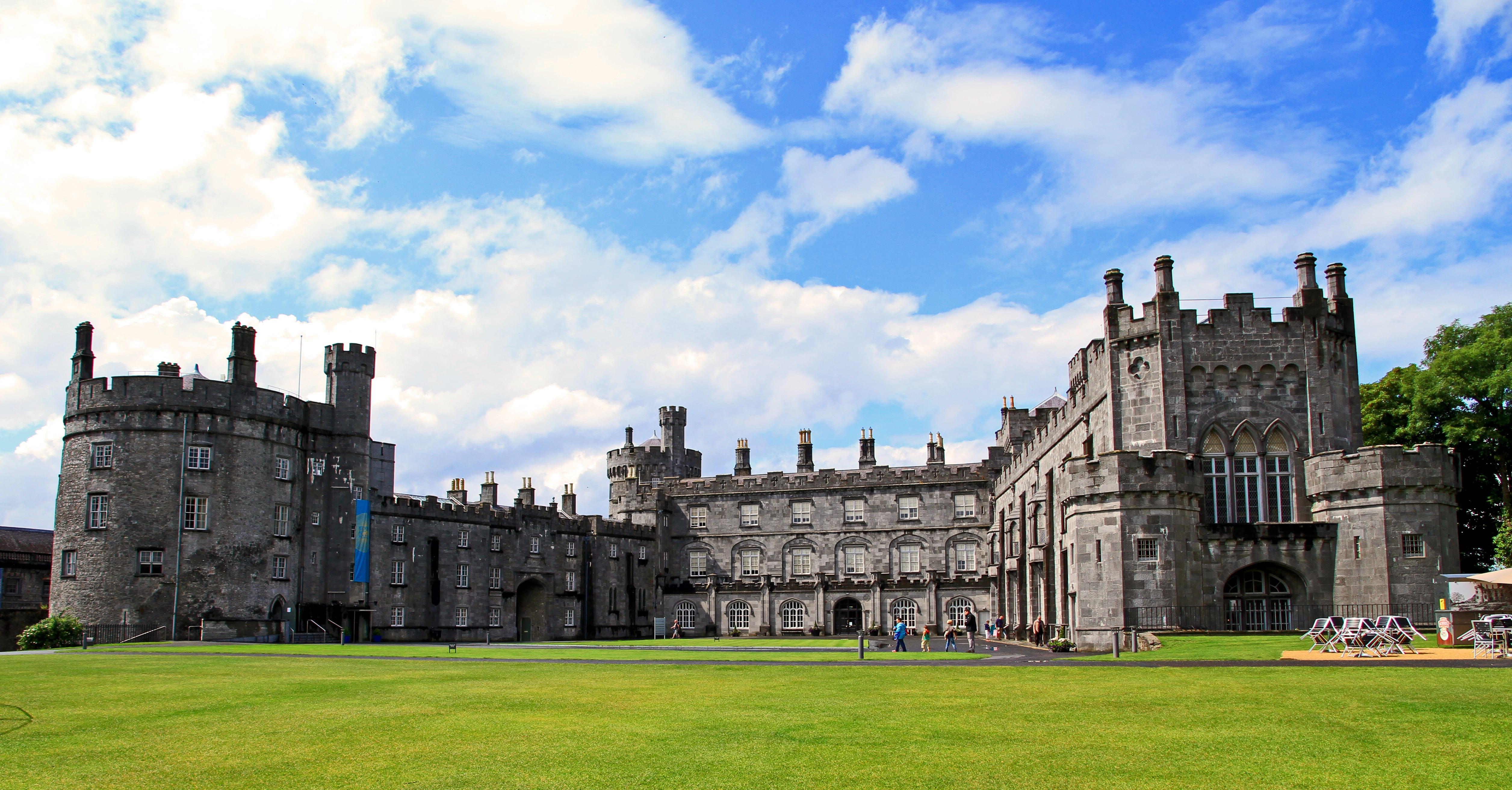 Visiting Kilkenny Castle is a great thing to do in Ireland