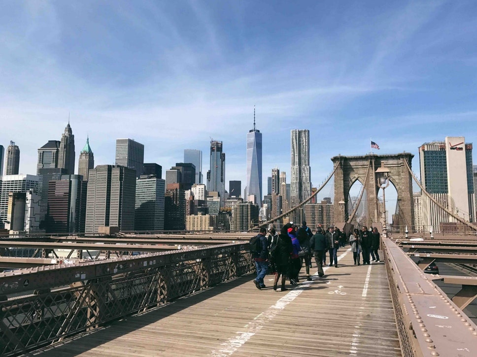 Here's a tip for budget New York travel: walk across all the bridges!