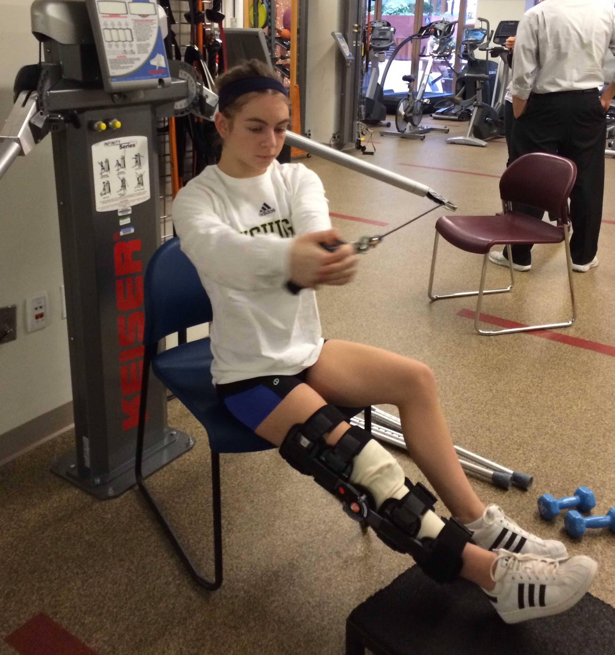 what to do after knee surgery - exercises