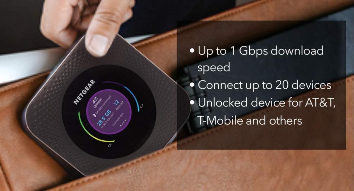Netgear Nighthawk MR1100 4G LTE Mobile Hotspot Router