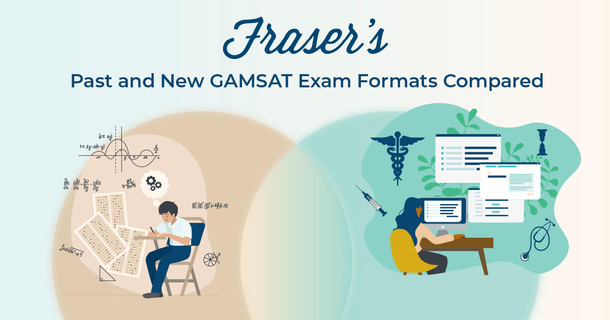 Past and new GAMSAT formats compared (Old vs new gamsat)