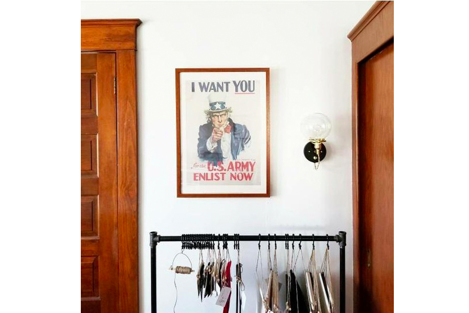 Frame Lift: Vintage Uncle Sam Poster