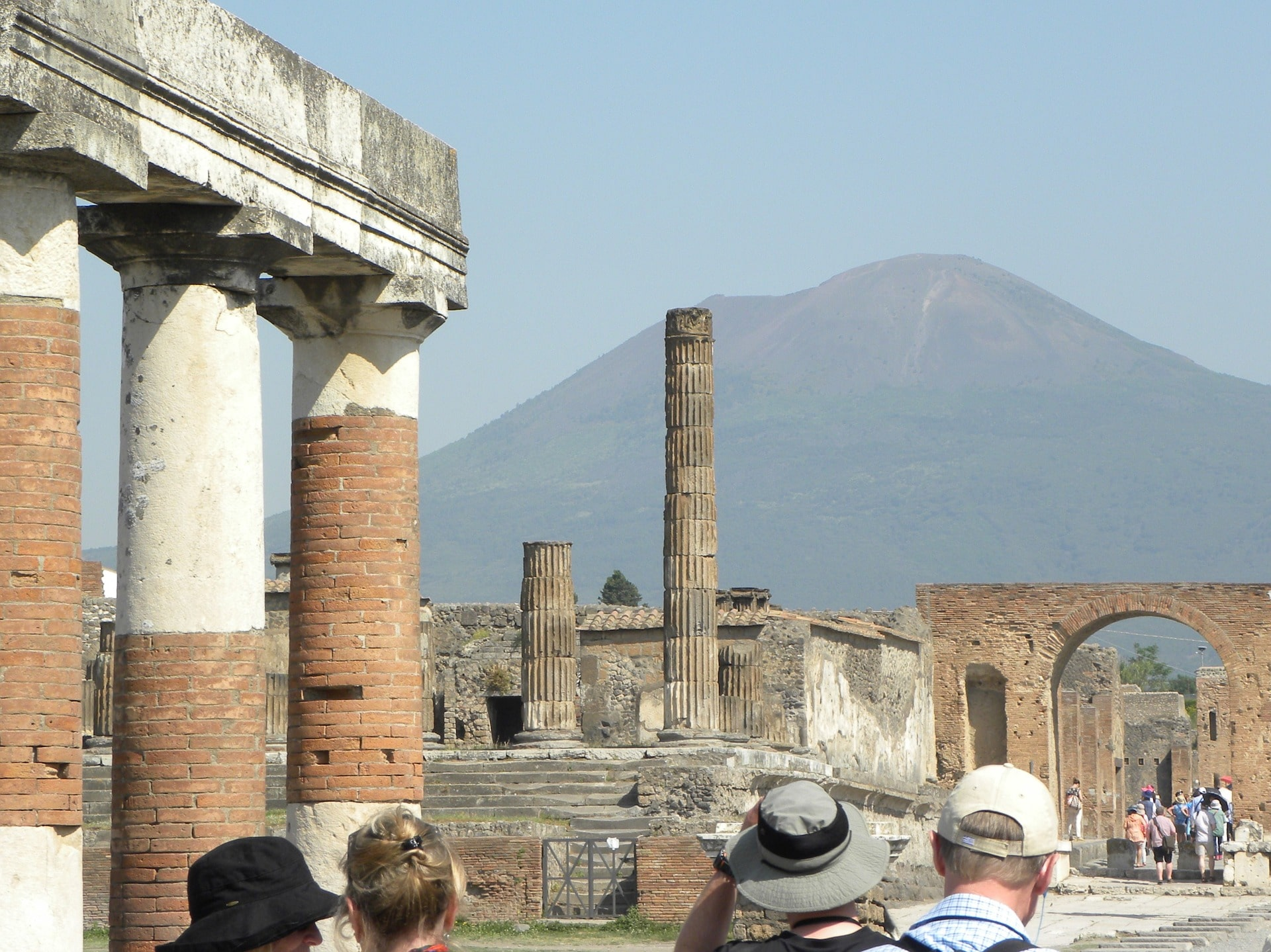 Pompeii is a cool (but haunting) place to visit in Italy